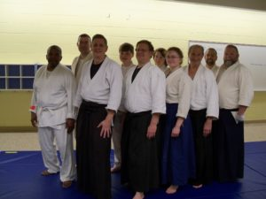Aikido in Stafford. Wednesday evenings at the Courthouse Community Center.